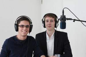 Flavio Poletti (links) und Tobias Baumann