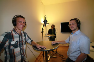 Fabian Imhof (links) und Silvan Baumann