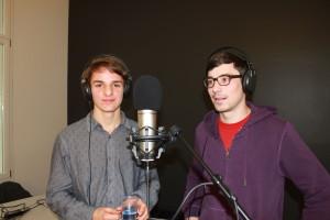 Linus Oechslin (links) und Fabian Rieder